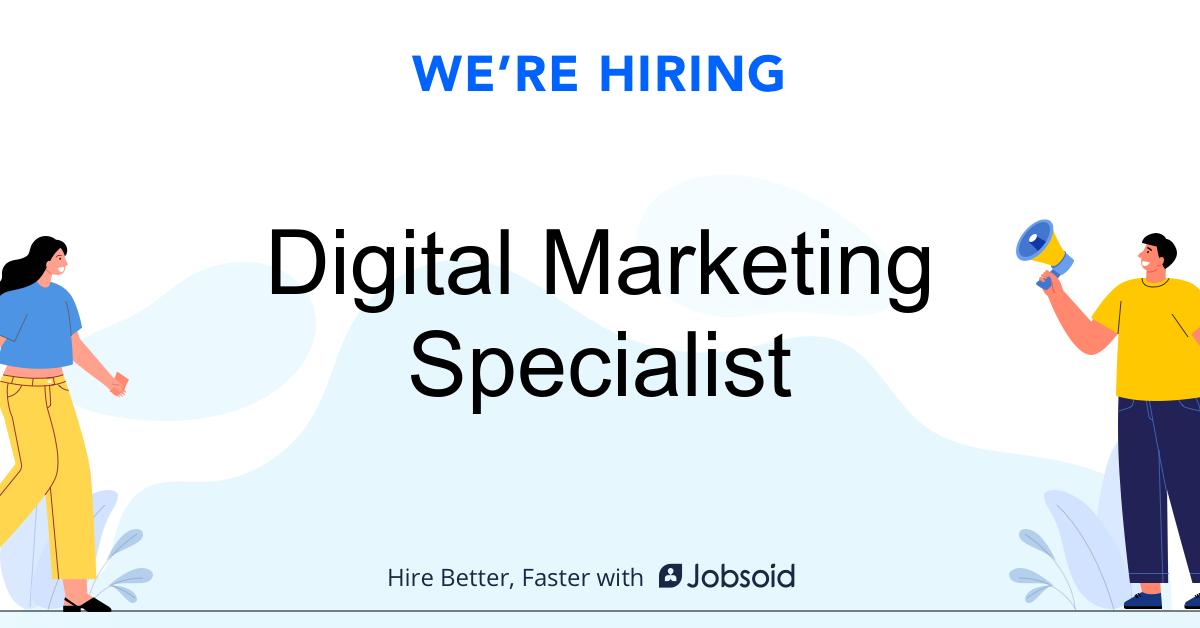 Digital Marketing Specialist Aom Integrated