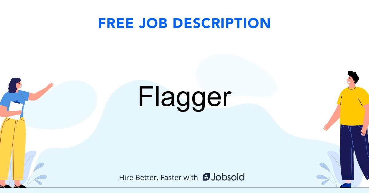 Flagger Job Description - Image