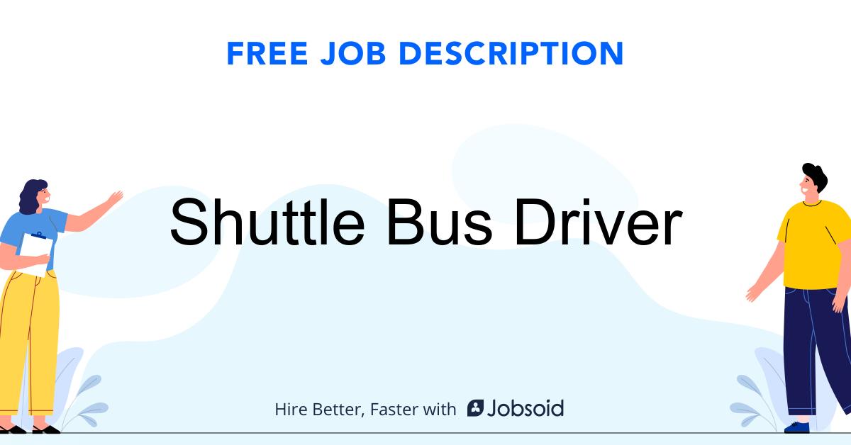 Shuttle Bus Driver Job Description - Image