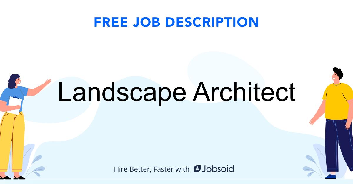 Landscape Architect Job Description - Image