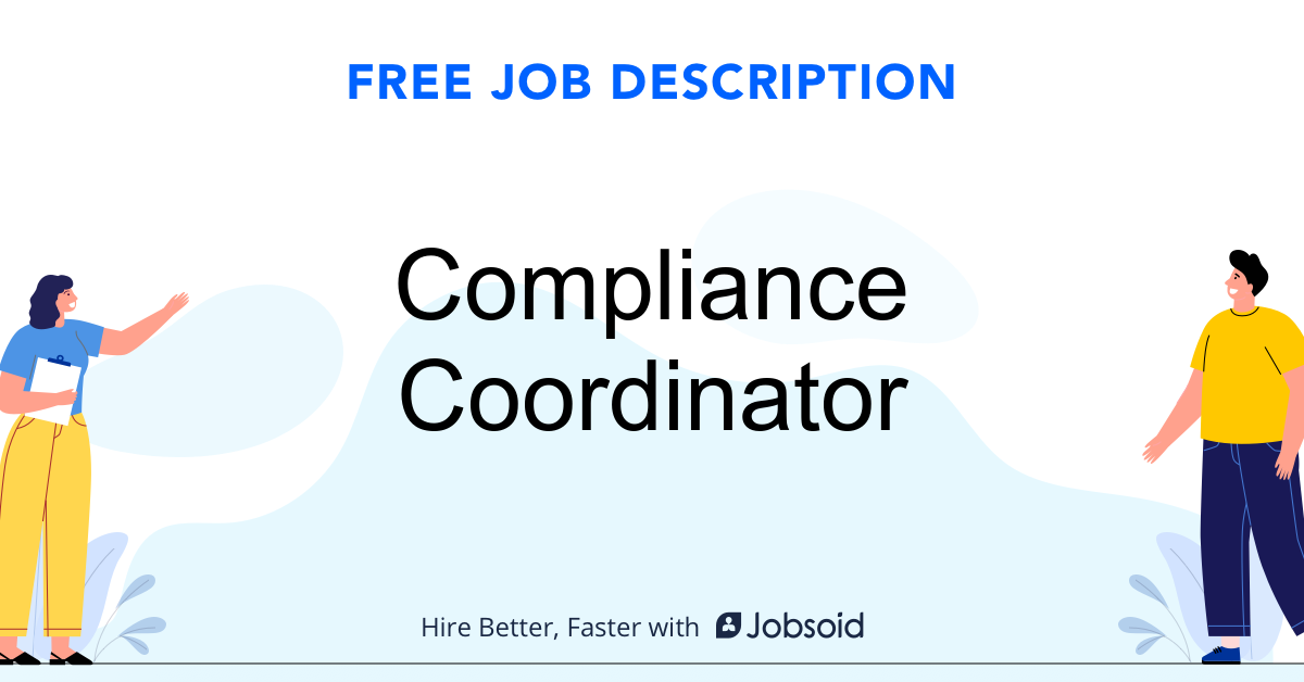 Compliance Coordinator Job Description - Image