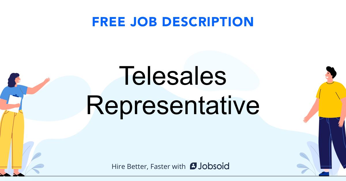 Telesales Representative Job Description - Image