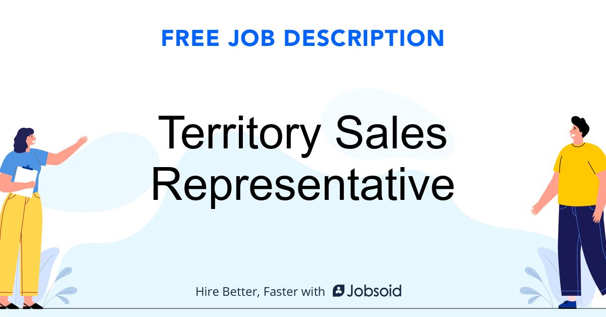 Territory Sales Representative Job Description - Image