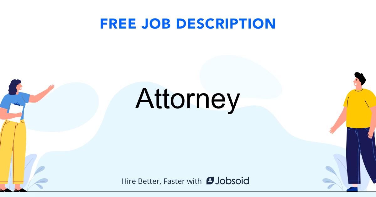 Attorney Job Description - Image