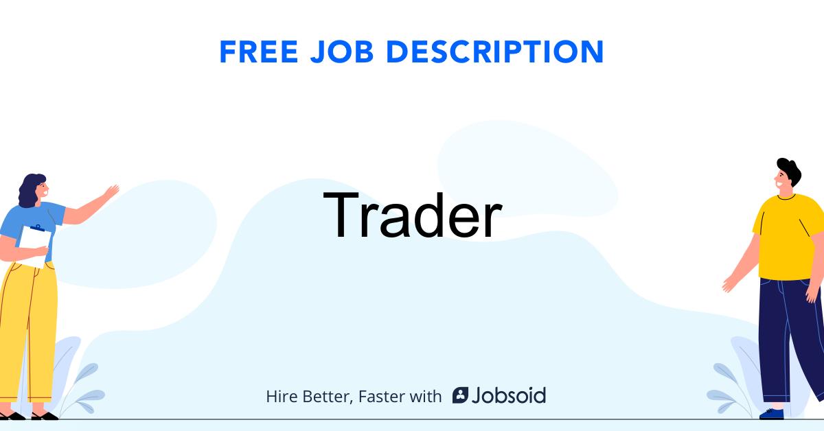 Trader Job Description - Image