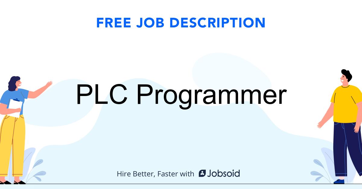 PLC Programmer Job Description - Image