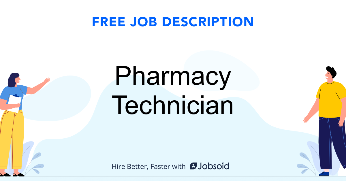 Pharmacy Technician Job Description - Image