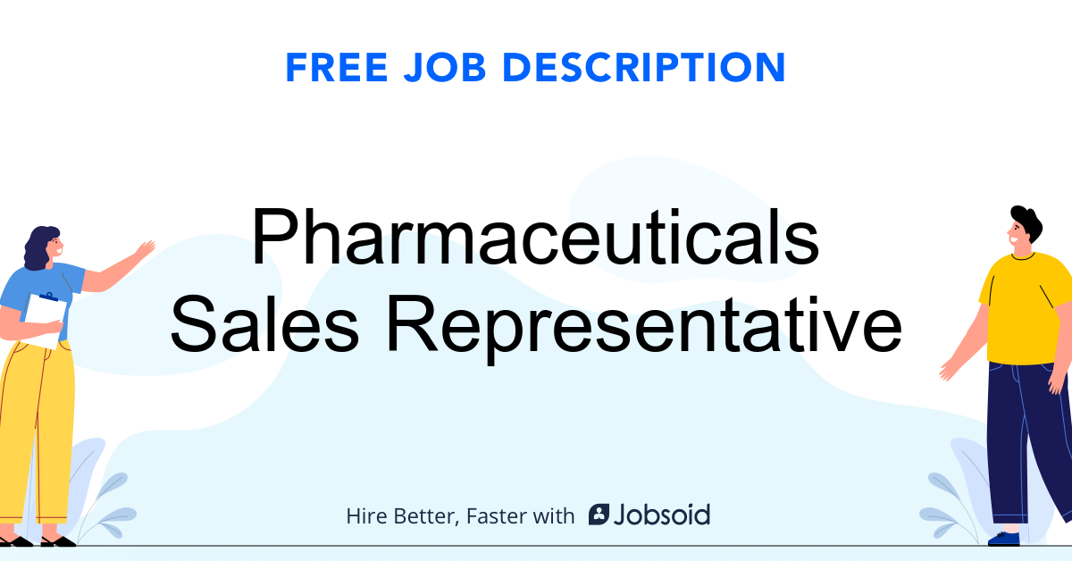 Pharmaceutical Sales Representative  Job Description - Image