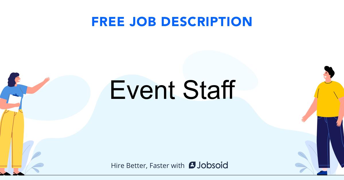 Event Staff Job Description - Image