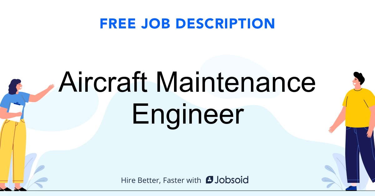 Aircraft Maintenance Engineer Job Description - Image