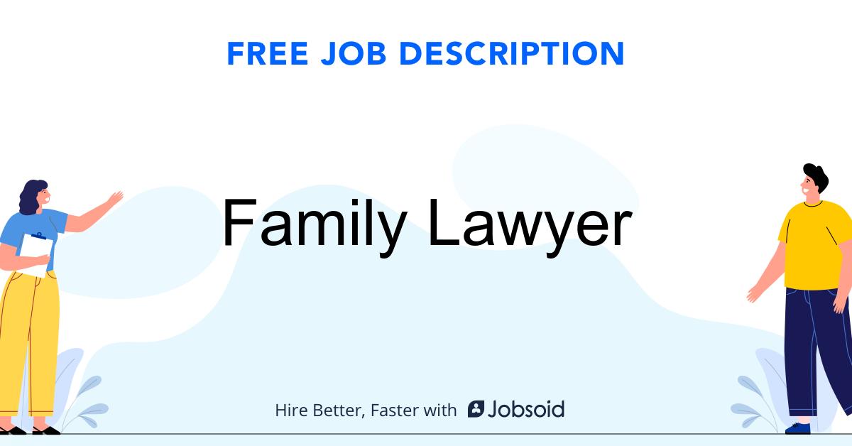 Family Lawyer Job Description - Image