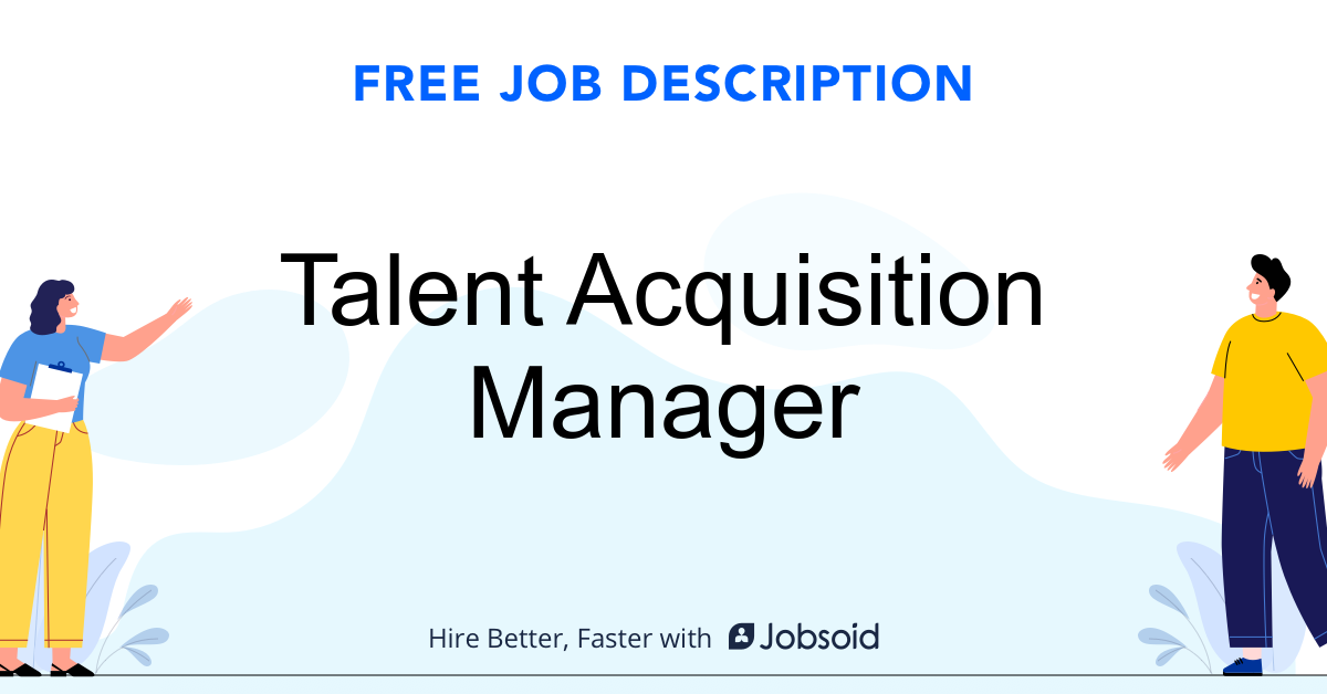 Talent Acquisition Manager Job Description - Image