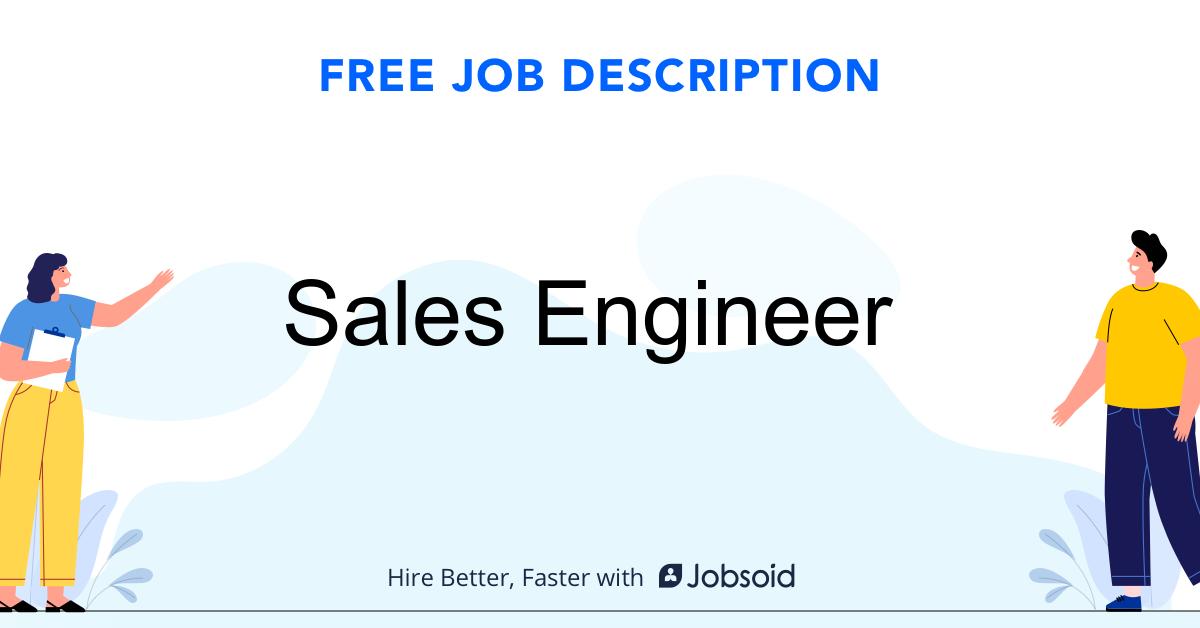Sales Engineer Job Description - Image