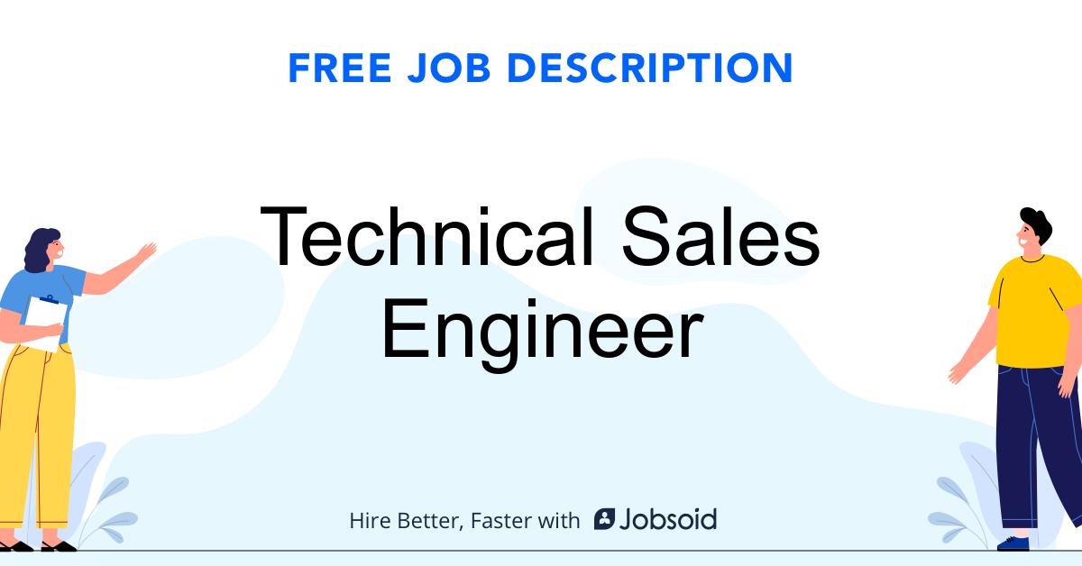 Technical Sales Engineer Job Description - Image