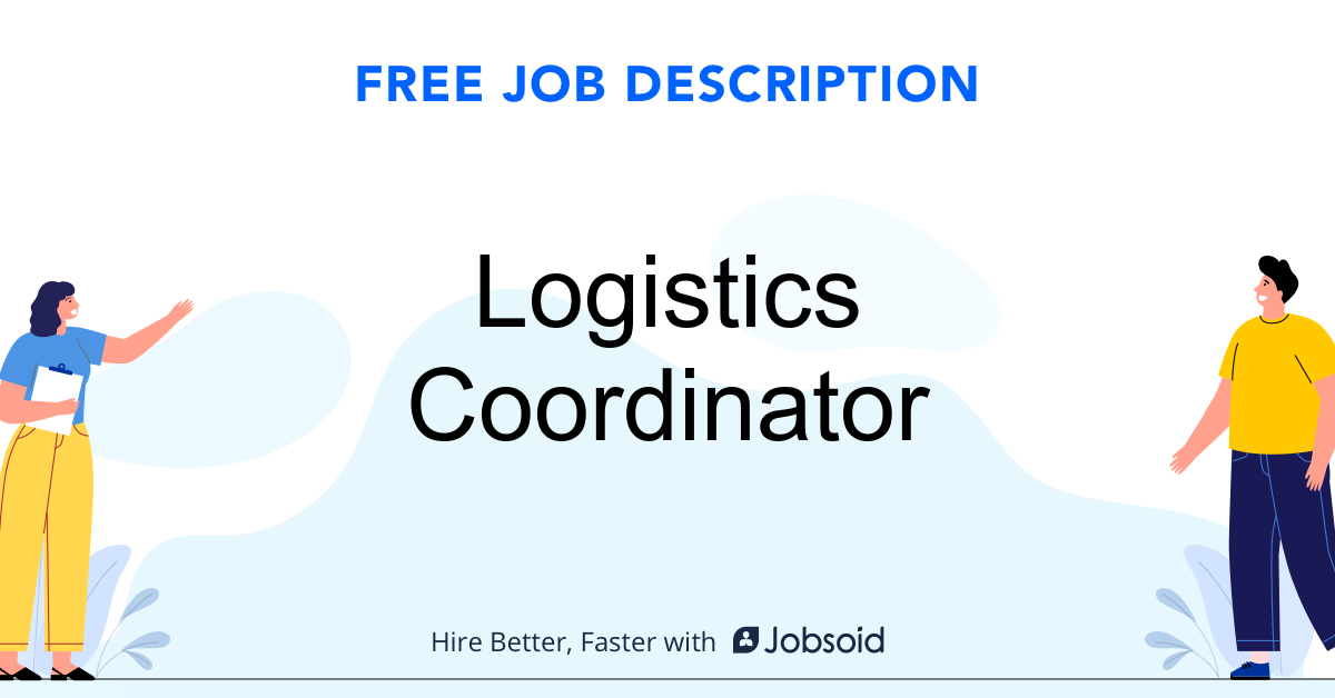 Logistics Coordinator Job Description - Image