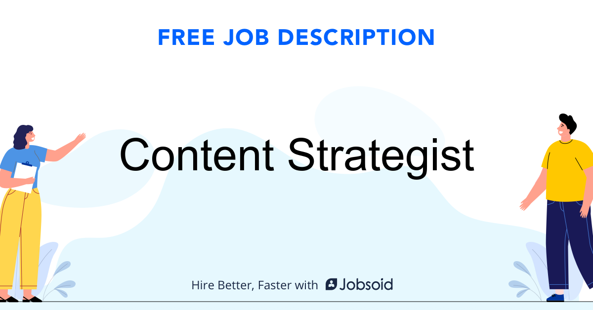Content Strategist Job Description - Image