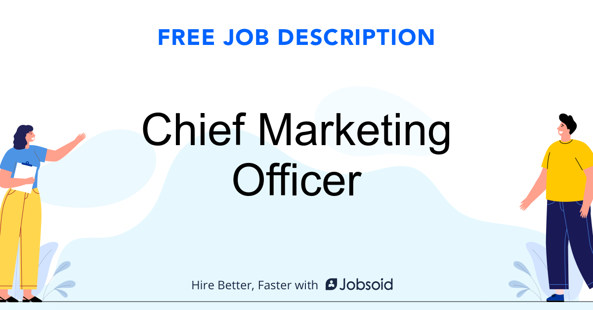 Chief Marketing Officer Job Description - Image