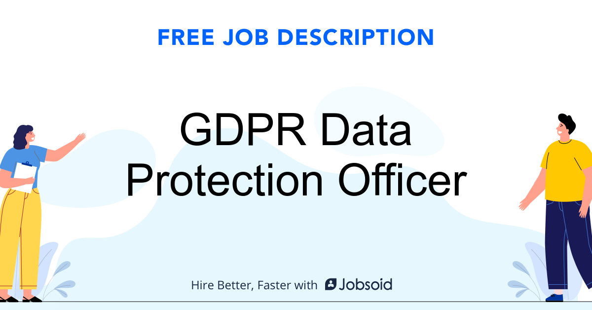 GDPR Data Protection Officer Job Description - Image
