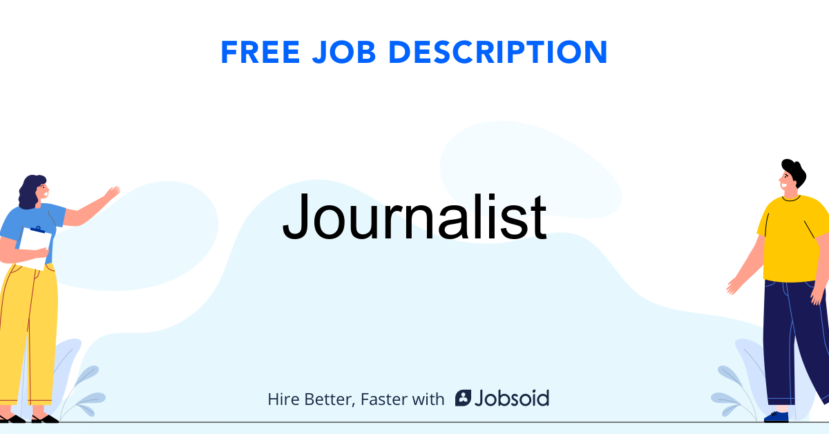 Journalist Job Description - Image