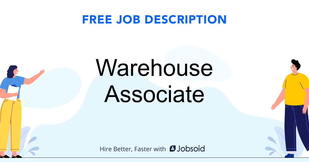Warehouse Associate Job Description - Image