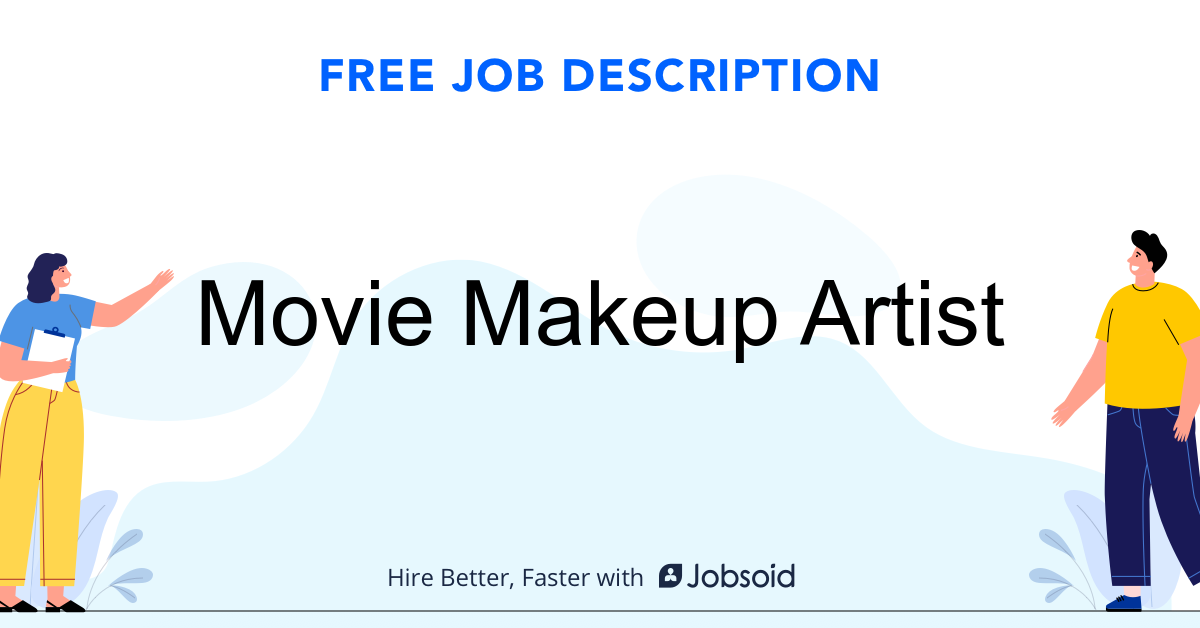 Movie Makeup Artist Job Description - Image