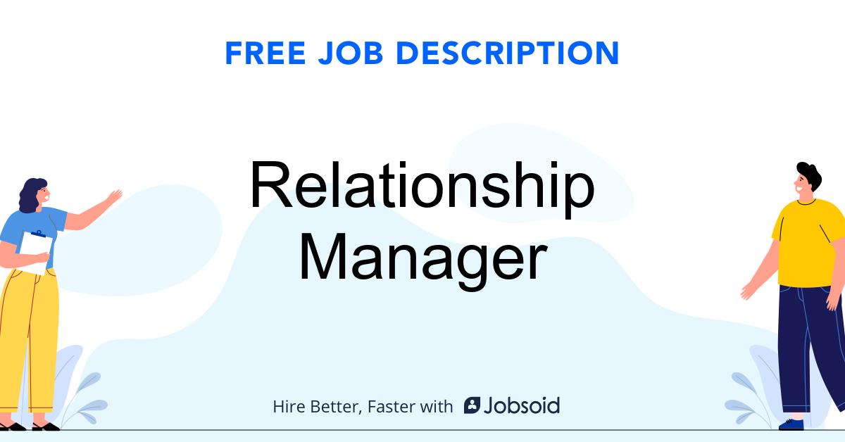 Relationship Manager Job Description - Image