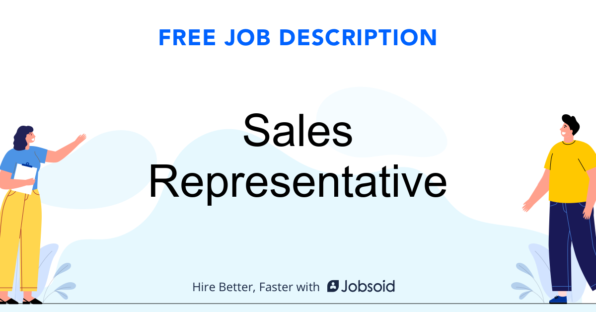 Sales Representative Job Description - Image