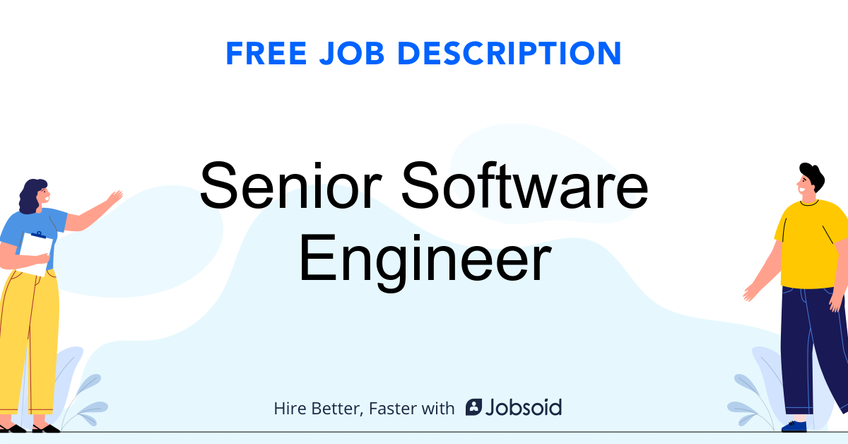 Senior Software Engineer Job Description - Image