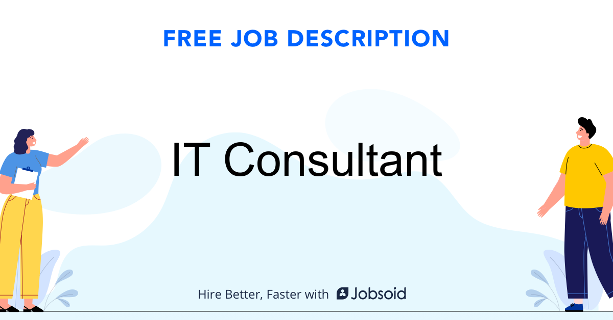 IT Consultant Job Description - Image