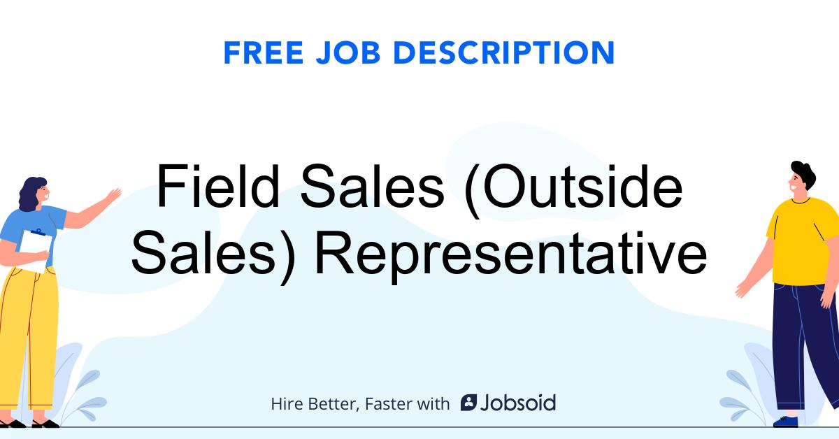 Field Sales (Outside Sales) Representative Job Description - Image