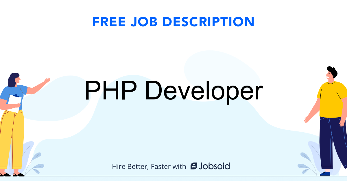 PHP Developer Job Description - Image