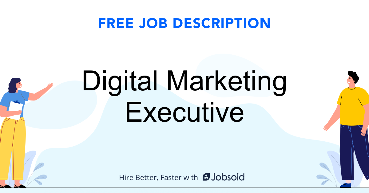 Digital Marketing Executive Job Description - Image