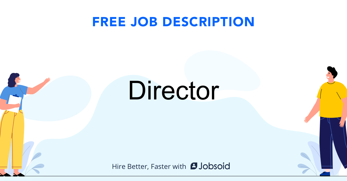Director Job Description - Image