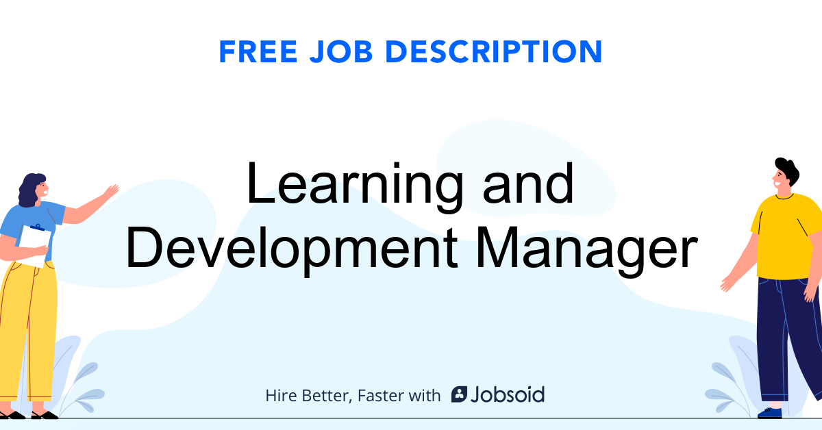 Learning and Development Manager Job Description - Image