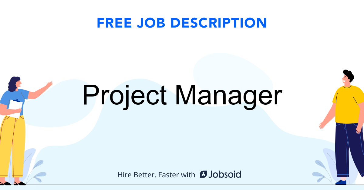 Project Manager Job Description - Image