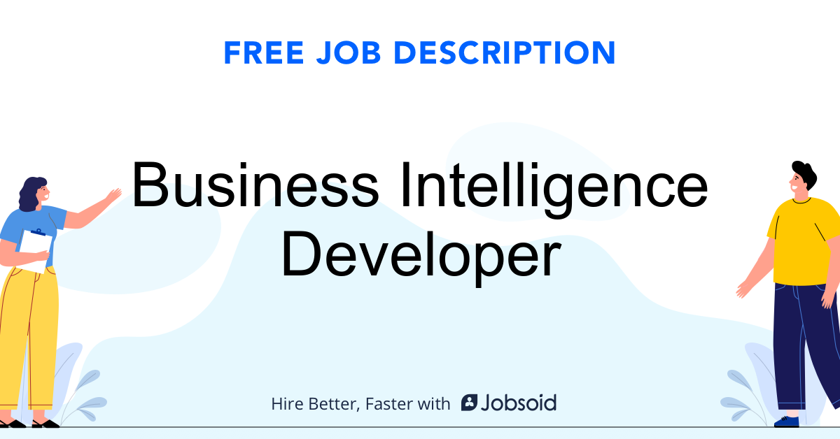Business Intelligence Developer Job Description - Image