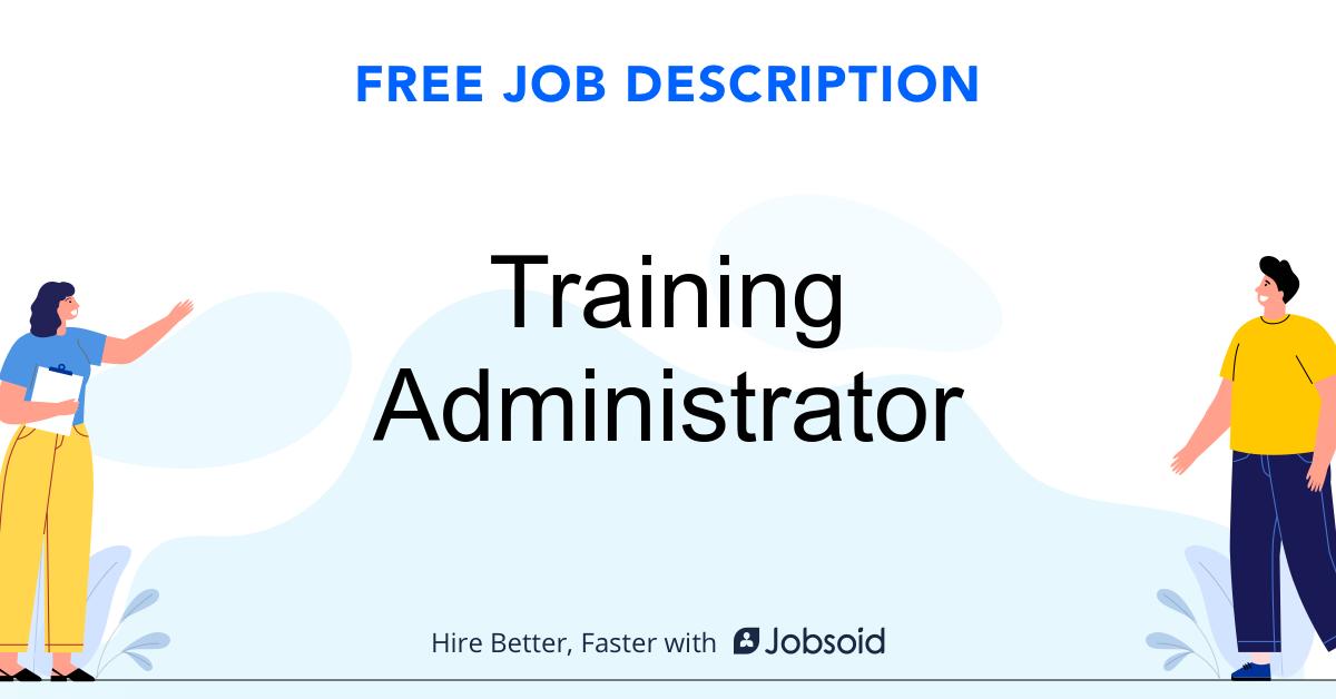 Training Administrator Job Description - Image