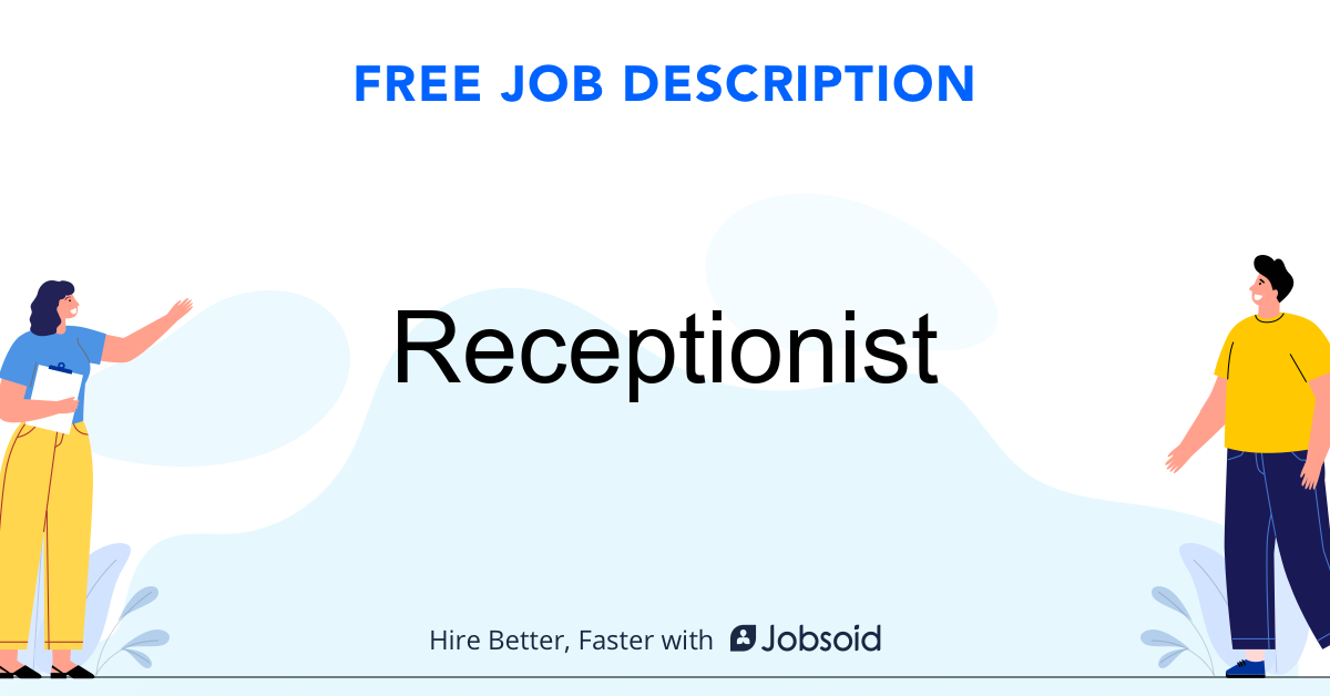 Receptionist Job Description - Image