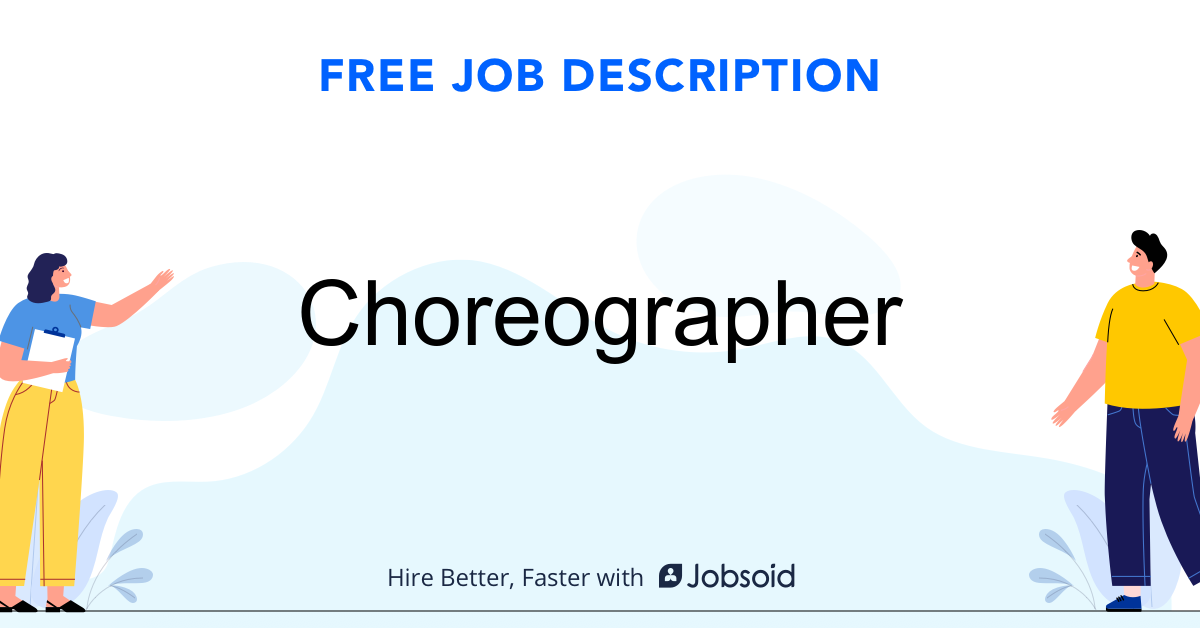 Choreographer Job Description - Image