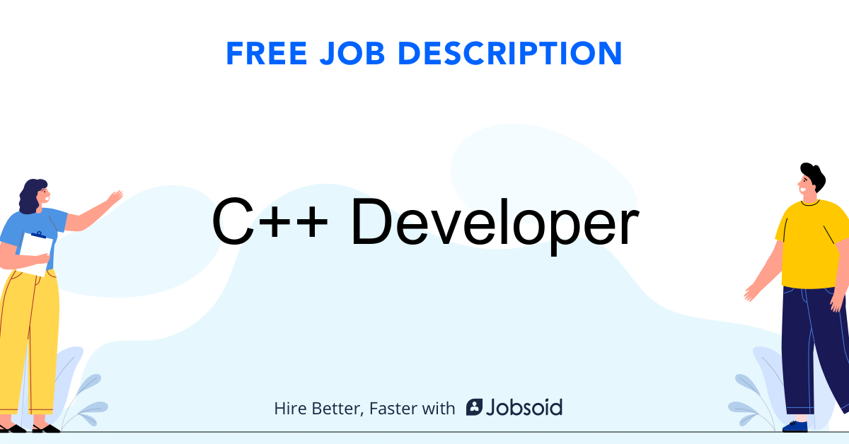 C++ Developer Job Description - Image