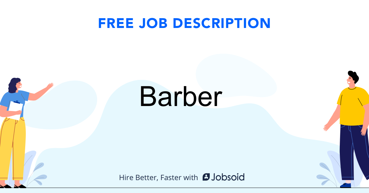 Barber Job Description Template - Jobsoid