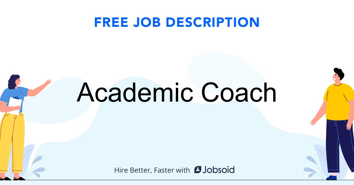 Academic Coach Job Description Template - Jobsoid