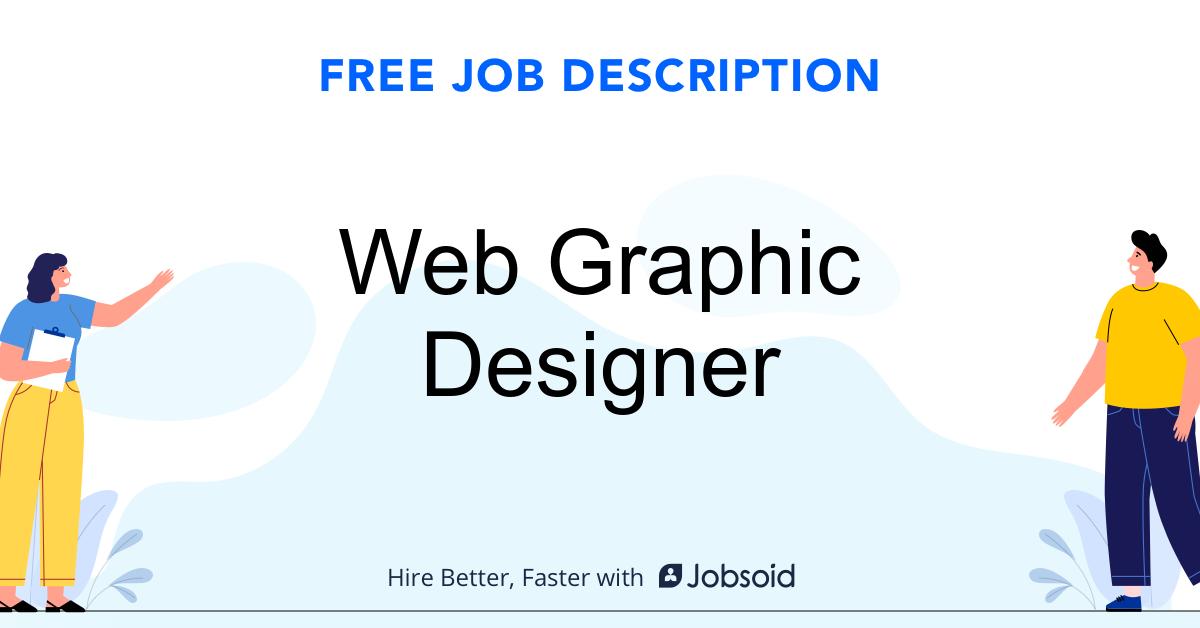 Web Graphic Designer Job Description Template - Jobsoid