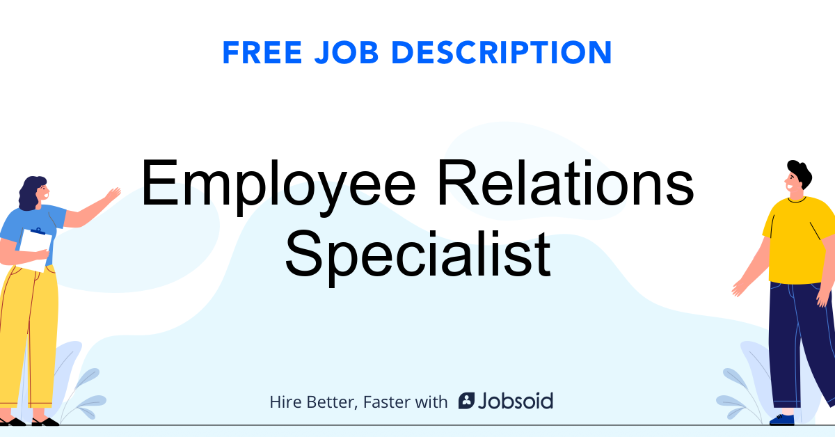 Employee Relations Specialist Job Description - Image