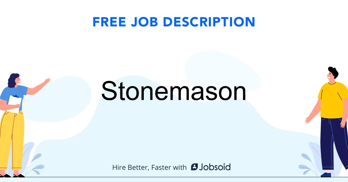 Stonemason Job Description - Image