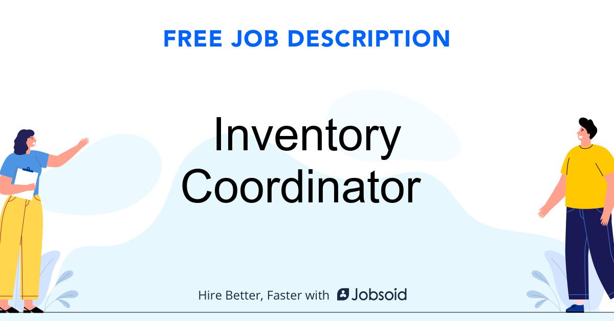 Inventory Coordinator Job Description - Image